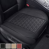 Black Panther Luxury PU Leather Car Seat Cover Protector for Front Seat Bottom,Compatible with 90%...