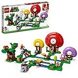 LEGO- Super Mario La Caccia al Tesoro di Toad-Pack di Espansione, Giocattolo, Set di Costruzioni, 71368