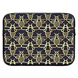 Bolsas para portátil Gold Bee compatibles con Tableta Netbook de 15 ″, maletín con Funda de Pringting, Funda para Bolso de Transporte