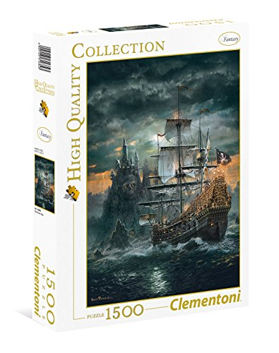 Clementoni- The Pirate Ship High Quality Collection Puzzle, 1500 Pezzi, 31682