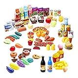 150 Jouez Jouets Alimentaires pour Enfants, Jeu de Cuisine  Non Toxique &...