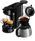 Philips Senseo HD6592/60 Switch 2-in-1 Kaffeemaschine,...