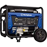 Westinghouse Outdoor Power Equipment WGen3600 Portable Generator 3600 Rated 4650 Peak Watts, RV Ready, Gas Powered, CARB Compliant