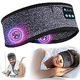 Schlafkopfhörer Bluetooth Geschenke für Frauen & Männer - Personalisierte Weihnachten Geschenke Schlafmaske mit Kopfhörer Schlafen, Wichtelgeschenk Stirnband für Yoga/Sport/Bequemer Seitenschläfer