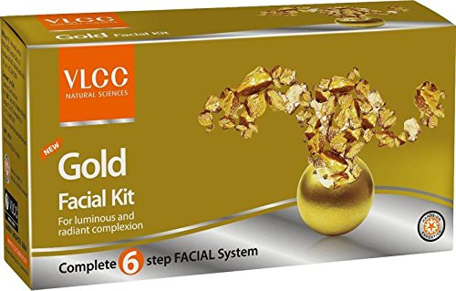 VLCC Gold Facial Kit 60 g (Set of 4)