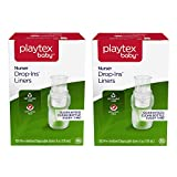 Playtex Baby Nurser Drop-Ins Baby Bottle Disposable Liners, Closer to Breastfeeding, 4 oz, 200 Count