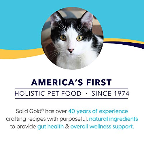 Product Image 7: Solid Gold - Indigo Moon with All Natural Chicken & Egg - Grain Free & Gluten Free - High Protein Holistic Dry Cat Food for All Life Stages - 6lb Bag