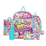 Shopkins Rainbow Backpack Back to School 5 Piece Essentials Set