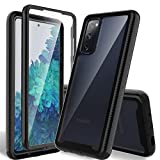 HATOSHI Samsung Galaxy S20 FE 5G Case, Galaxy S20 Fan Edition Case with Built in Screen Protector,...