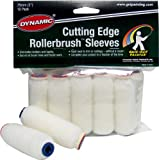 Dynamic HM005913 Cutting Edge Roller Brush Refills, 10-Pack, 3-Inch