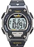 Timex Men's T5K195 Ironman Endure 30 Shock Full-Size Black/Yellow Resin Strap Watch