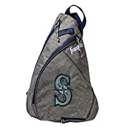 Perfect for holding your baseball equipment or as an everyday bag Sling-style bag with retractable bat storage compartment Convenient and comfortable anatomical sling-strap design J-style fence hook allows bag to hang on dugout fence Rugged heather g...