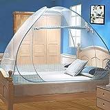 Moustiquaire de Lit Pliable, Digead Portable de voyage Moustiquaire, Porte simple Camping Mosquito...
