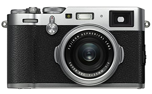 Fujifilm X100F 24.3 MP APS-C Digital Camera-Silver