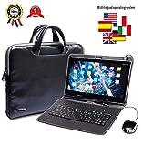 Tablette Tactile Ecran 10 Pouces,Tablet PC avec Clavier (AZERTY) Android...