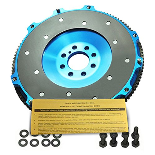EFT ALUMINUM CLUTCH FLYWHEEL WORKS WITH 00-05 MITSUBISHI ECLIPSE GT GTS SPYDER 3.0L SOHC V6