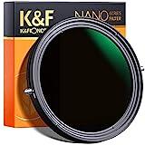 K&F Concept Filtro Densità Neutra Variabile 72mm ND2-ND32 e Filtro...