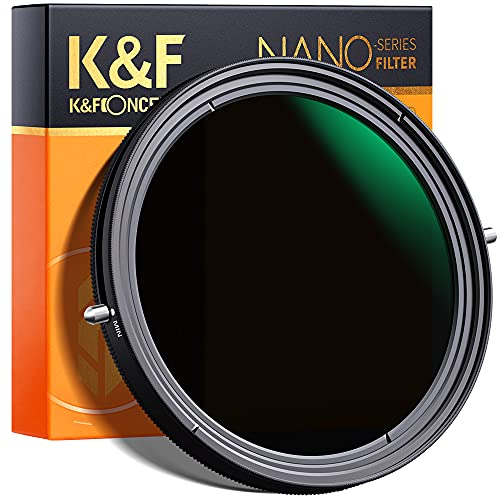 K&F Concept 67mm Variable Fader ND2-ND32 ND Filter and CPL...