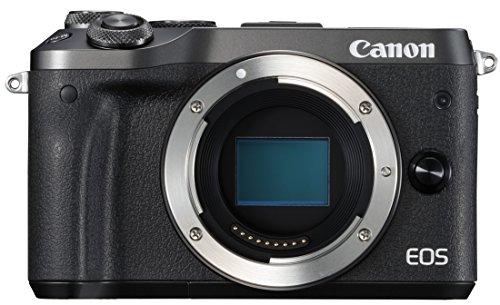 Canon ミラーレス一眼カメラ EOS M6 ボディー(ブラック) EOSM6BK-BODY