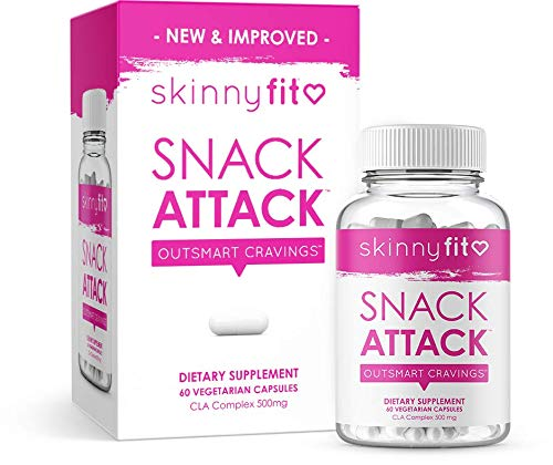 SkinnyFit Snack Attack Natural Metabolism Booster, Healthy Weight, Natural Energy and Help Curb Cravings (60 Vegan Capsules) 1