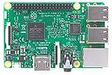 RASPBERRY PI 3 B - QC 1.2 GHZ - 1 GB RAM - VIDEOCORE IV 3D - BT 4.1-4 x USB 2.0 - HDMI - WIFI - ETHERNET - MICROSD