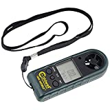 Caldwell Wind Wizard II Wind Meter with Multiple Wind Readings, LCD Backlight and Lanyard for Long Range, Shooting and Hunting