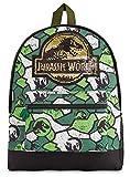 Jurassic World Mochilas Escolares, Material Escolar de Jurassic Park, Mochila Infantil Indominus Rex con Diseño de Camuflaje, Regalos Originales para Niños Niñas Adolescentes
