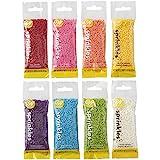 Wilton Rainbow Jimmies Sprinkles Dessert Decorating Set, 8-Piece