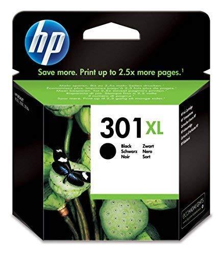 HP 301XL CH563EE Cartuccia Originale per Stampanti a Getto d'Inchiostro, Compatibile con DeskJet...