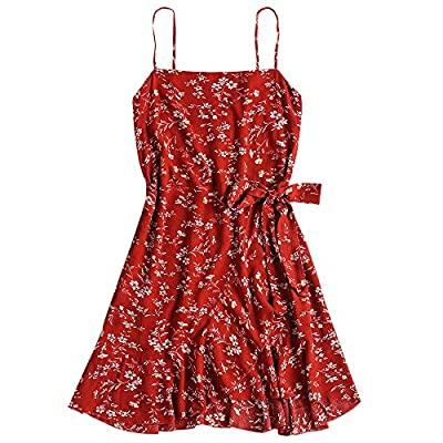 Size information:Different styles of dress size will vary, please refer to the detailed size chart before purchase.Please allow 1-3cm differs due to manual measurement,thanks Material: Cotton,Polyester ,very soft and comfortable to your skin.The fabr...
