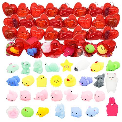 Kissdream 30 PCS Valentine's Day Kids Gift Mochi Squishy...