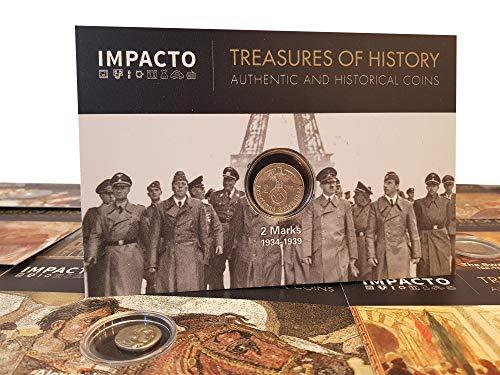 IMPACTO COLECCIONABLES Monedas Antiguas - Alemania, 2 Marcos