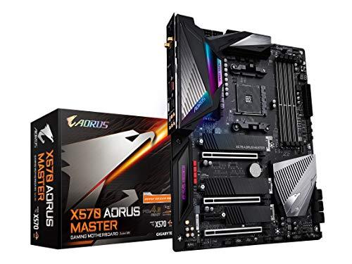 GIGABYTE ギガバイト X570 AORUS MASTER ATX マザーボード [AMD X570チップセット搭載] MB4787