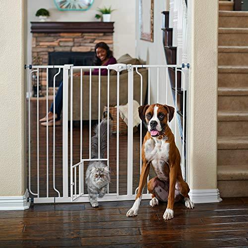 You & Me Extra-Tall Walk-Thru Pet Gate, 29'-50' W x 41' H, 14 LBS