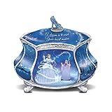 Bradford Exchange Disney Cinderella's Dream Heirloom Porcelain Music Box