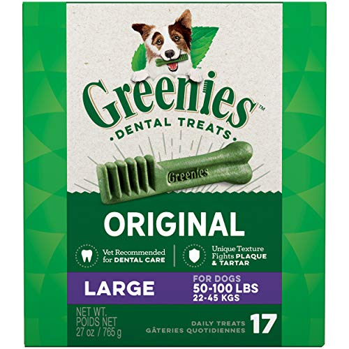 GREENIES Original Large Natural Dog Dental Care...
