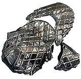 ダークホース MF08フォルツァ用 ダイヤカット エナメルブラウン シート 表皮 張替用 FORZA (茶)