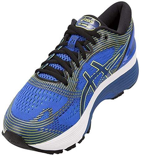 ASICS Men's Gel-Nimbus 21 Illusion Blue/Black Running Shoes-5 UK/India (39 EU) (6 US) (1011A169.400)