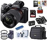 Sony Alpha a7III Full-Frame 4K UHD Mirrorless Digital Camera with 28-70mm Lens Bundle with Camera...