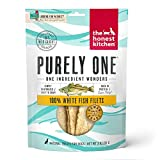 The Honest Kitchen Wishes: Natural Human Grade Dehydrated Fish Filets, Treats for Dogs and Cats 3 oz