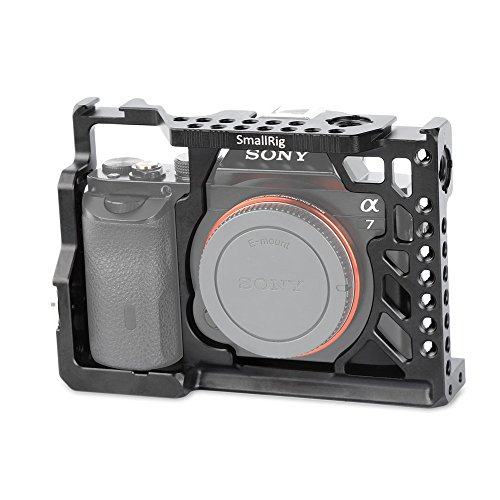 SmallRig SONY A7/A7S/A7Rカメラ専用ケージ 拡張カメラケージ SONY A7/A7S/A7R対応 軽量 取付便利 耐久性 耐食性-1815