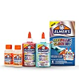 Elmer's Slime Kit | Slime Supplies Include Elmer's Metallic Glue, Elmer's Magical Liquid Slime Activator, 4 Piece Kit (Office Product)