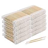 Lot de 1000 cotons-tiges, 100 % coton biologique biodégradables,...
