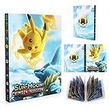 Classeur pour Pokemon, Porte Carte Pokemon, Pokémon Carte Album, Livre Carte...