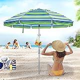 Deyard 6.5ft Beach Umbrella...