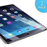 Verre Trempé Compatible avec iPad Air 1/ 2, [2 Pack] SUERW Vitre Film...