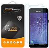 (2 Pack) Supershieldz for Samsung Galaxy J3 V J3V (3rd Gen) and Galaxy J3 (3rd Generation) (Verizon) Tempered Glass Screen Protector Anti Scratch, Bubble Free