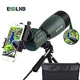 ESSLNB Cannocchiale Professionale 25-75X70 Spotting Scope con Tripode Adattatore Telefonico e Borsa BAK4 Completamente Multistrato Porro Prisma per Tiro a Segno Birdwatching