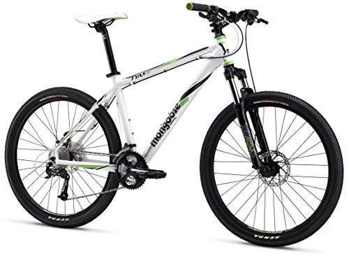 Mongoose TYAX Comp Men's Mountain Bike, White, 20'/Large