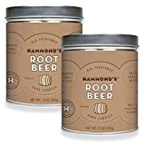 Hammond's Old Fashioned- Natural Root Beer Pantry Candies 2- 10 Ounce Tins. Our Natural Root Beer Drops are Handmade in Small Batches- Using the Finest Ingredients. Proudly Handcrafted in the USA.